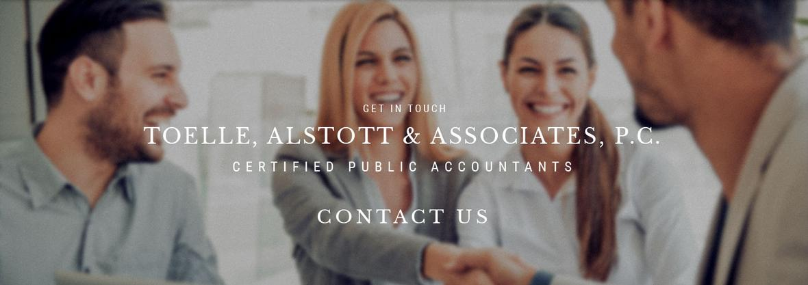 Banner for Contact Us page for Toelle, Alstott & Associates