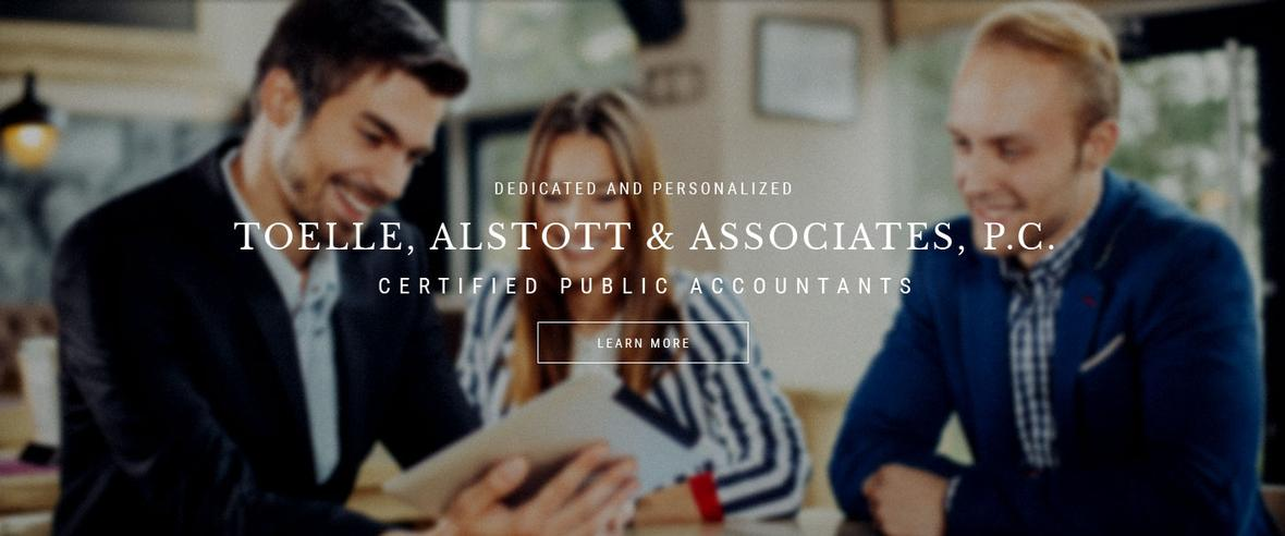 Home page banner for Toelle, Alstott and Associates